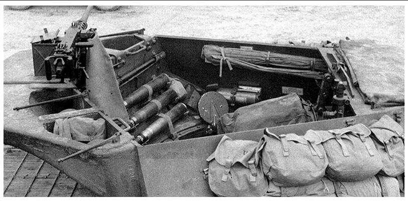 Fort driant for L interieur du char de vimoutier